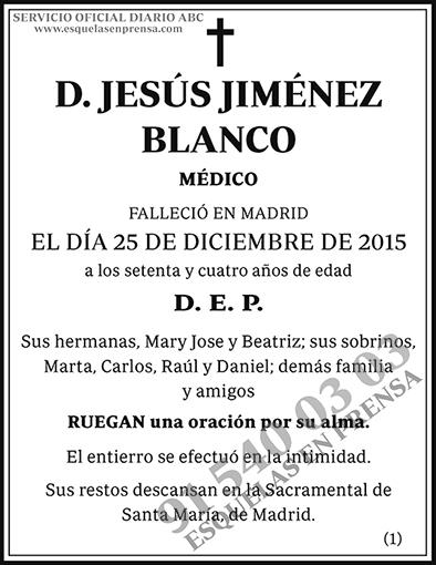 Jesús Jiménez Blanco